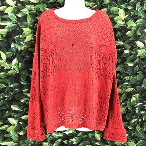 Umgee Size Small Open Hole Sweater